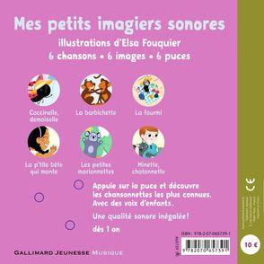 Mes chansonnettes - Elsa Fouquier