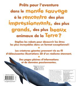 Le livre géant des animaux sauvages - Mary Greenwood, Peter Minister