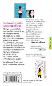 La dernière petite enveloppe bleue - Maureen Johnson