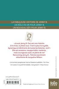 Trois aventures de Jenny B. - Nick Sharratt, Jacqueline Wilson