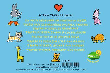 Zaza fait ses premiers pas avec Trotro - Bénédicte Guettier