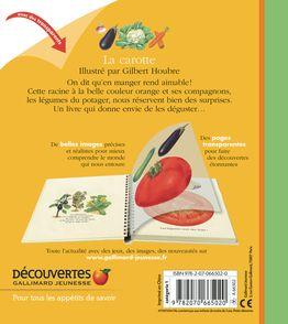 La carotte et le jardin potager - Pascale De Bourgoing, Gilbert Houbre