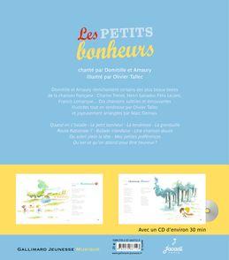 Les petits bonheurs -  Amaury,  Domitille, Olivier Tallec