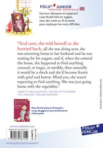 Lamb to the Slaughter and other stories - Roald Dahl
