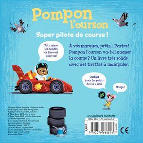 Pompon l'ourson super pilote de course! - Benji Davies