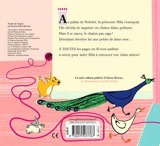 Princesse Mila et le vilain minou - Alison Murray