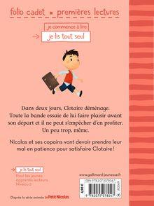 Clotaire déménage - Emmanuelle Kecir-Lepetit