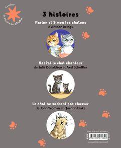 3 histoires de petits chats - Quentin Blake, Antoon Krings, Axel Scheffler