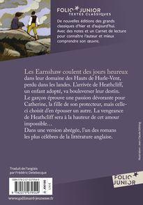 Les Hauts de Hurle-Vent - Emily Brontë