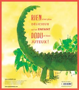 L'énorme crocodile - Quentin Blake, Roald Dahl