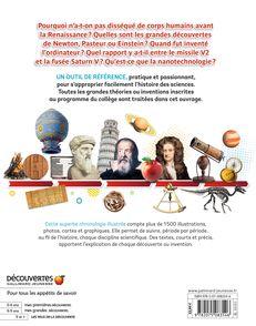 Sciences : toutes les grandes dates - Clive Gifford, Susan Kennedy, Philip Parker