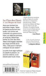 Les Neiges de l'exil - Lian Hearn
