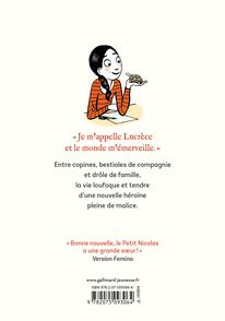 Le monde de Lucrèce, 1 - Anne Goscinny,  Catel