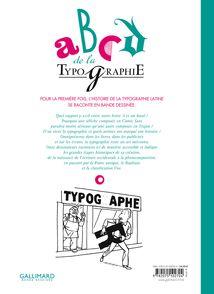 ABCD de la typographie - Seyhan Argun,  Aseyn, François Ayroles, Hervé Bourhis, Alexandre Clérisse, Olivier Deloye,  Libon, Delphine Panique, Jake Raynal, Anne Simon,  Singeon