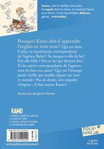 Kamo. L'agence Babel - Daniel Pennac, Benjamin Renner