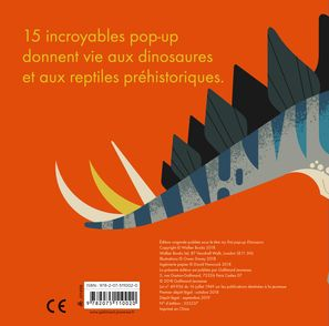 Mon premier pop-up dinosaures - Owen Davey
