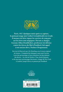 Les Crimes de Grindelwald -  Minalima, J.K. Rowling