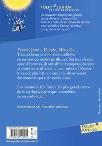 Héros de la mythologie grecque - Marie-Thérèse Adam