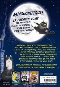 Toto Ninja chat et l'évasion du cobra royal - Nick East, Dermot O'Leary