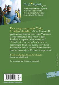 Yvain ou Le Chevalier au lion -  Chrétien de Troyes, Julie Ricossé