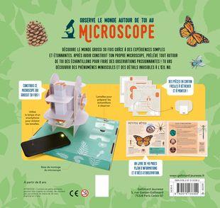 Observe le monde autour de toi au microscope - Tom Jackson