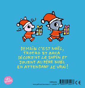 Trotro et Zaza et le Père Noël - Bénédicte Guettier