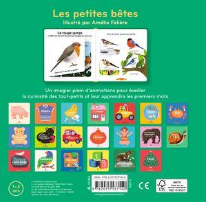 Les petites bêtes - Amélie Falière