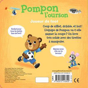 Pompon l'ourson : Joueur de foot - Benji Davies