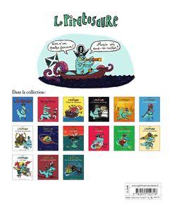 Le Piratosaure et la caverne des Poulpes-Voleurs - Alex Sanders
