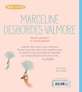 Amour partout ! et autres poèmes - Marceline Desbordes-Valmore, Julie Joseph