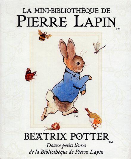 La mini-bibliothèque de Pierre Lapin - Beatrix Potter