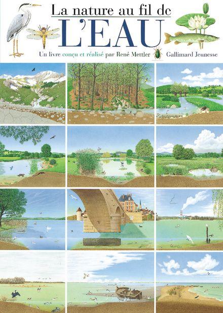 La nature au fil de l'eau - René Mettler