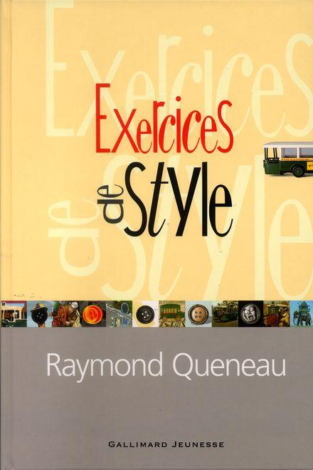 Exercices de style - Raymond Queneau