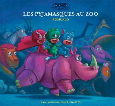 Les Pyjamasques au zoo -  Romuald