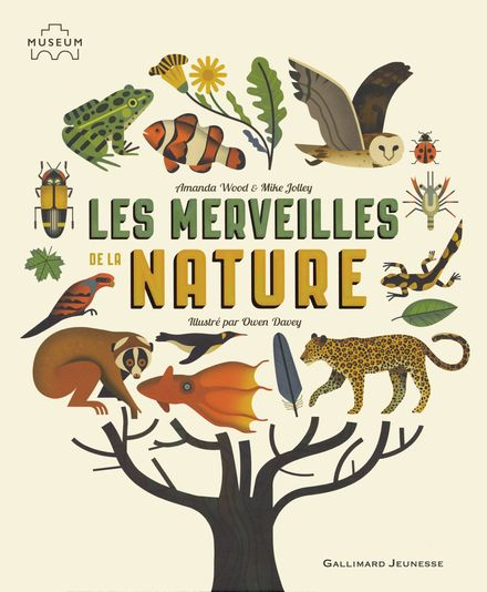 Les merveilles de la nature - Owen Davey, Mike Jolley, Amanda Wood