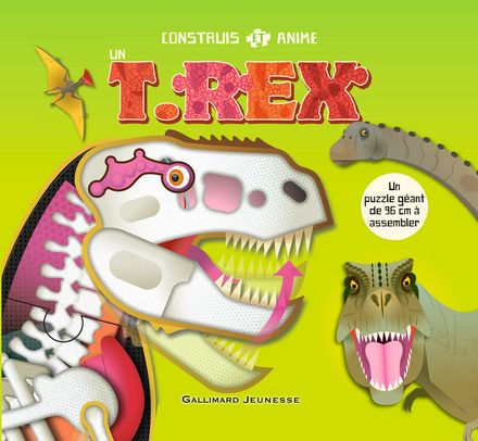 Construis et anime un T.rex - Michael Bright, Mark Ruffle