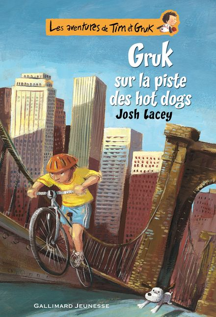 Gruk sur la piste des hot dogs - Ronan Badel, Josh Lacey