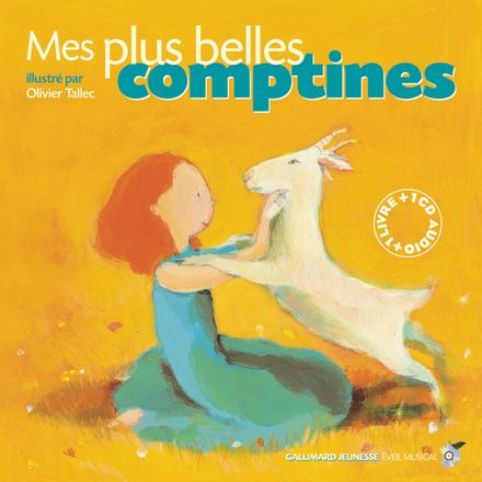 Mes plus belles comptines - Olivier Tallec