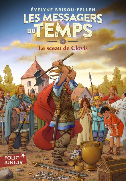 Le sceau de Clovis - Évelyne Brisou-Pellen, Philippe Munch
