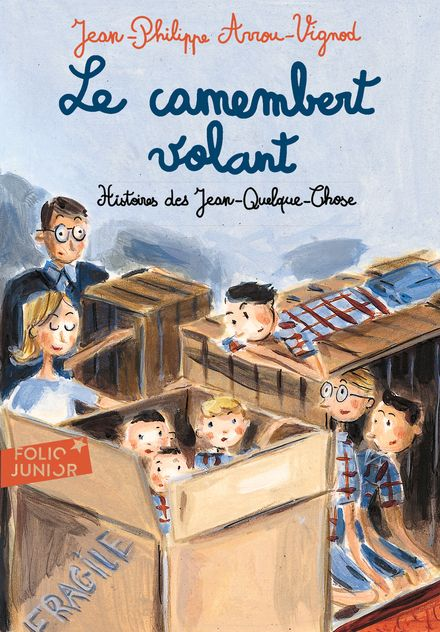 Le camembert volant - Jean-Philippe Arrou-Vignod, Dominique Corbasson