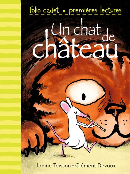 Un chat de château - Clément Devaux, Janine Teisson