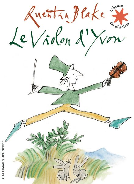 Le violon d'Yvon - Quentin Blake