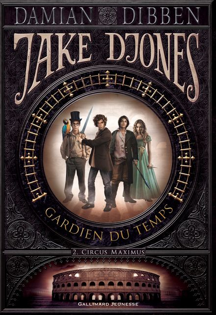 Jake Djones gardien du temps - Damian Dibben