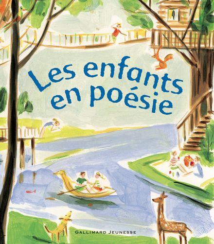Les enfants en poésie -  un collectif d'illustrateurs