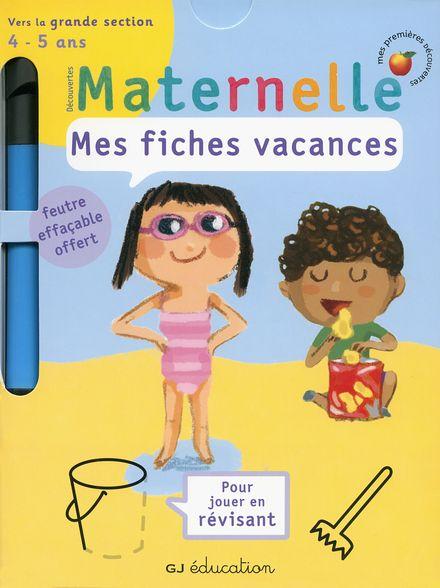 Mes fiches vacances -  un collectif d'illustrateurs, Delphine Gravier-Badreddine