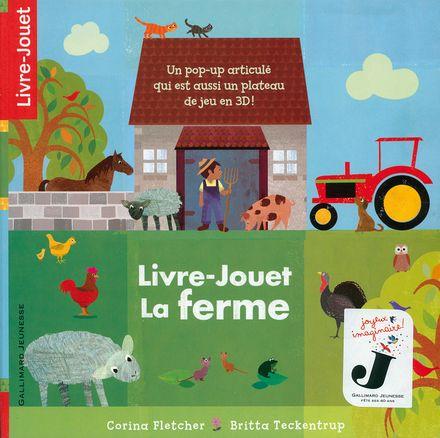 Livre-jouet La ferme - Corina Fletcher, Britta Teckentrup