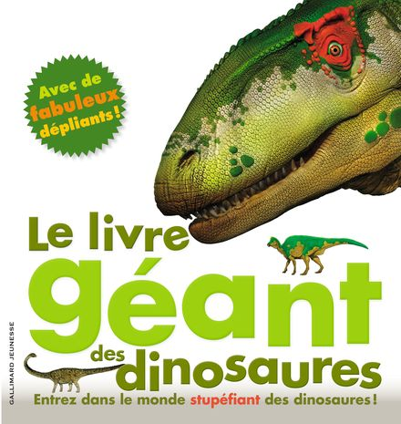 Le livre géant des dinosaures - Mary Greenwood, Peter Minister