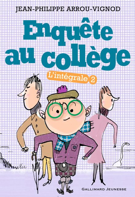 Enquête au collège - Jean-Philippe Arrou-Vignod, Serge Bloch
