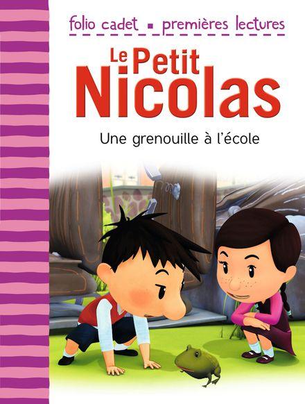Une grenouille à l'école - Emmanuelle Kecir-Lepetit