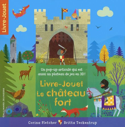 Livre-Jouet Le château fort - Corina Fletcher, Britta Teckentrup